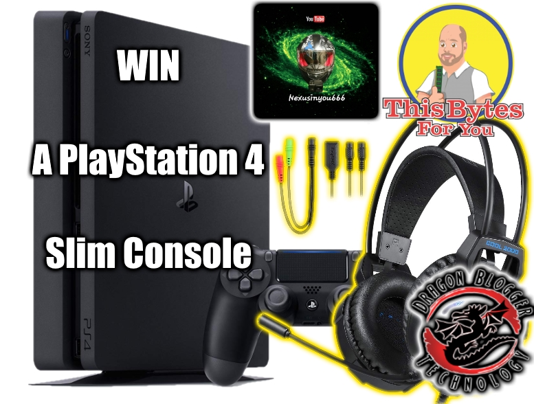 Celebrating the History of Dragon Blogger Technology with a PS4 Giveaway
