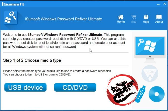 iSumsoft Windows Password Refixer
