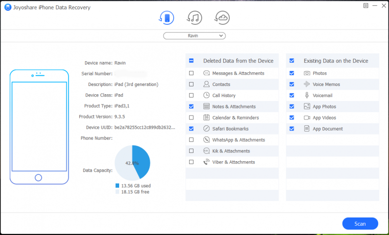 Recover Lost and Deleted Data from iOS Devices with Joyoshare iPhone Data  Recovery for Windows [Review] - Dragon Blogger Technology