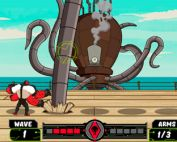 Play Ben 10 No Arms Done online - Screenshot 1