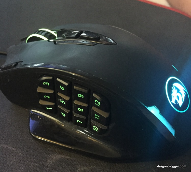 Redragon Impact MMO Gaming Mouse Review and Giveaway