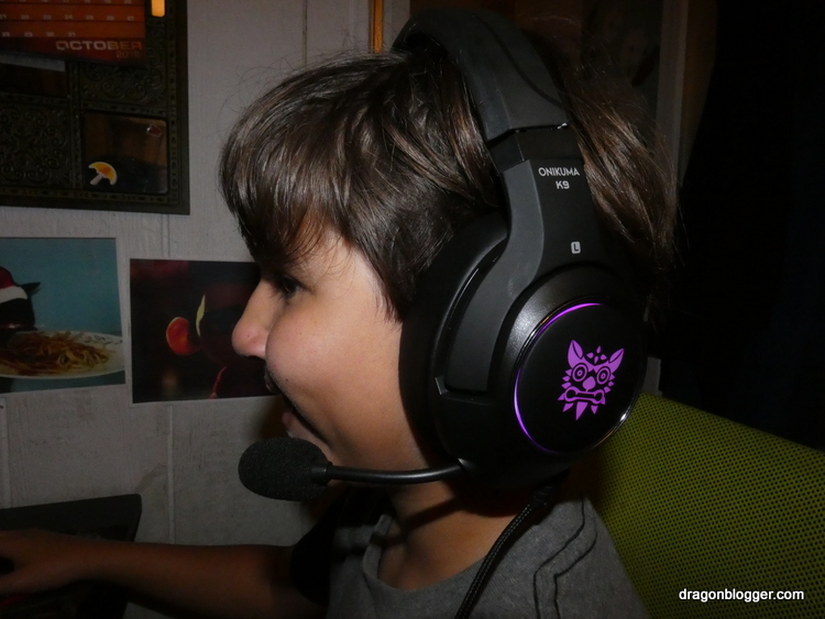 Onikuma K9 Gaming Headset Review and Giveaway - Dragon