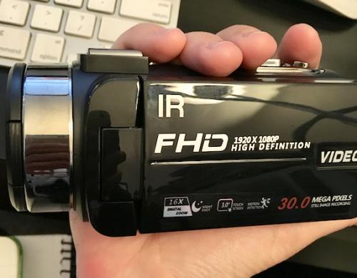 SEREE HD Video Camera Review - Dragon Blogger Technology
