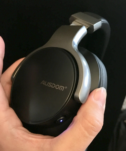 AUSDOM ANC8 Active Noise Cancelling Bluetooth Headphone Review - Dragon  Blogger Technology