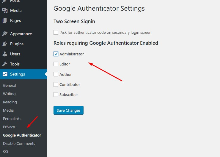 Securing your Wordpress Login with Google Authenticator