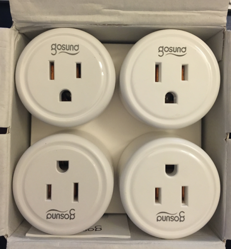 Gosund Wifi Outlet 4-Pack Review - Dragon Blogger Technology